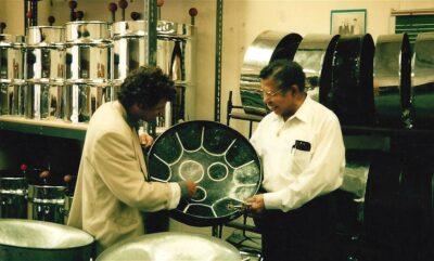 Ellie Mannette, Felix Rohner, Morgantown 1995 PANArt Hang Manufacturing Ltd.