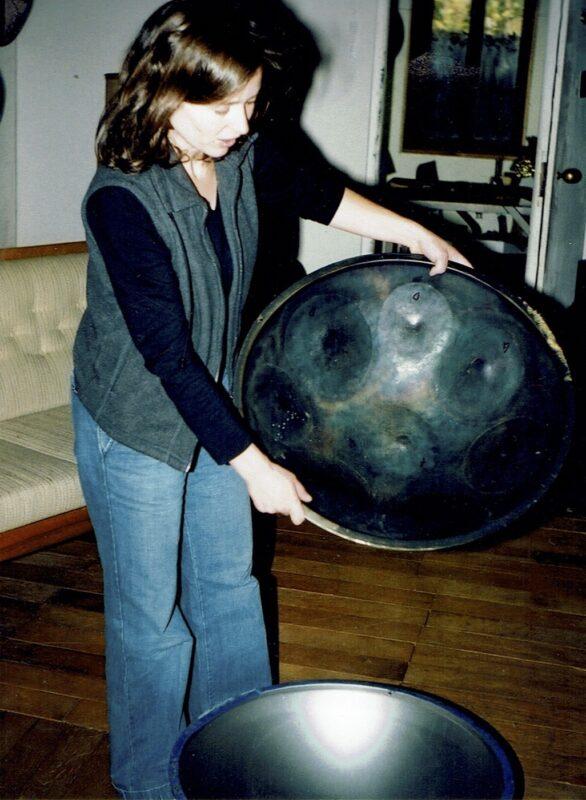 Sabina mit Urhang pingform eingestimmt 1999 PANArt Hangbau AG