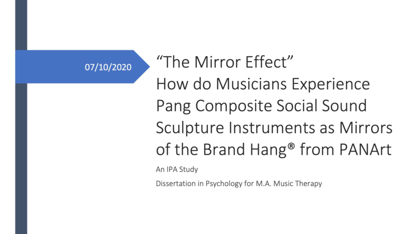 Christopher Baron M A Music Therapy Dissertaion2 PANArt Hangbau AG