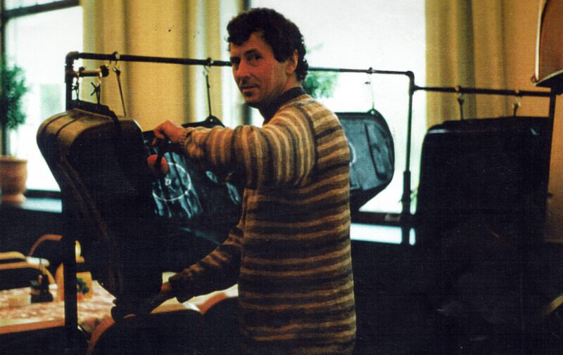 Felix Rohner Plays The Gasolinetankbass PANArt Hangbau AG
