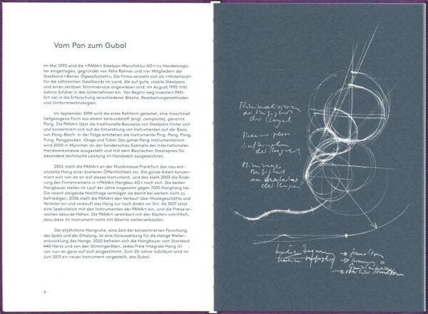Buch Inhalt de PANArt Hangbau AG